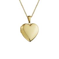 14K_Yellow_Gold_Plain_Heart_Locket