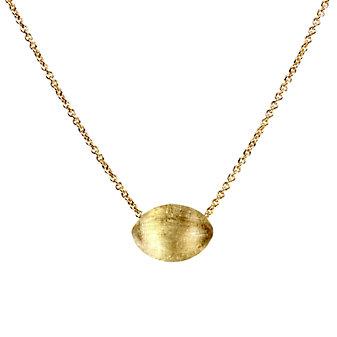 Marco Bicego 18K Yellow Gold Oval Delicati Pendant