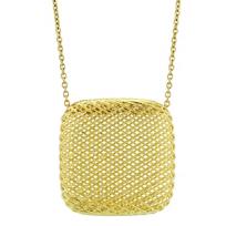 Roberto_Coin_18K_Yellow_Gold_Silk_Square_Pendant
