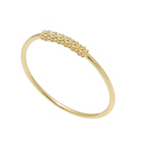 Lagos_18K_Yellow_Gold_Covet_Caviar_Bar_Stacking_Ring