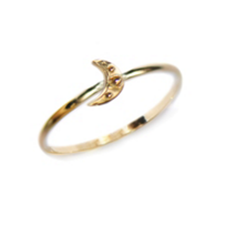 Anzie_14K_Yellow_Gold_Aztec_Micro_Crescent_Moon_Ring