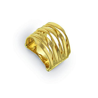 Marco Bicego 18K Yellow Gold Seven Row Marrakech Ring