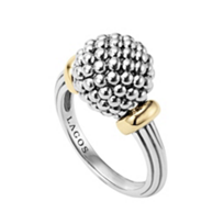 Lagos_Sterling_Silver_&_18K_Yellow_Gold_Caviar_Forever_Ring