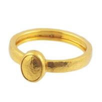 Gurhan_24K_Yellow_Gold_Hammered_Amulet_Ring