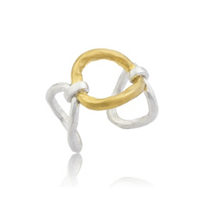 lika_behar_helena_sterling_silver_&_24k_yellow_gold_hammered_open_ring