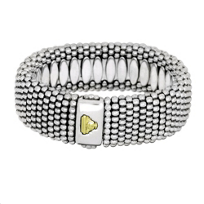 Lagos_Sterling_Silver_23mm_Caviar_Bracelet_with_18K_Yellow_Gold_Logo