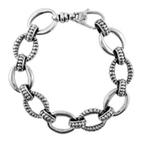 Lagos_Sterling_Silver_Oval_Links_Bracelet