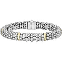 Lagos_Sterling_Silver_&_18K_Yellow_Gold_Station_9mm_Signature_Caviar_Bracelet