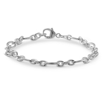 Sterling_Silver_Figaro_Baroque_Link_Bracelet