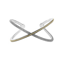 Lagos_Infinity_Sterling_Silver_&_18K_Yellow_Gold_X_Cuff_Bracelet