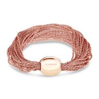 Pesavento_DNA_Antique_Pink_Sterling_Silver_Narrow_Multi-Strand_Mesh_Bracelet