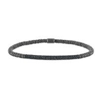 pesavento_polvere_di_sogni_twirl_gray_tone_and_silver_bracelet_with_gray_dust_accent_bar