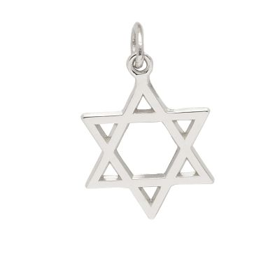 Rembrandt Sterling Silver Star of David Charm
