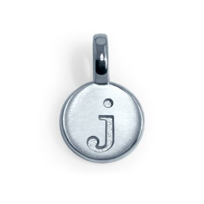 Alex Woo Sterling Silver Mini Addition Letter J Charm