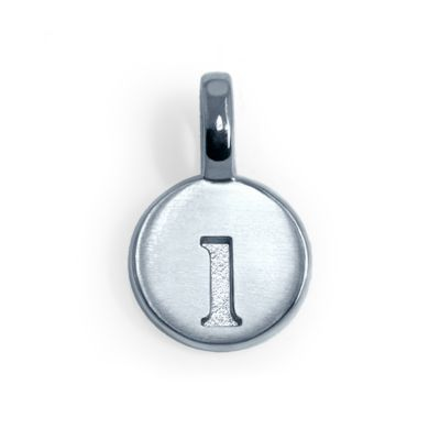 Alex Woo Sterling Silver Mini Addition Letter L Charm