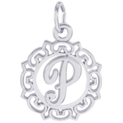 Rembrandt Sterling Silver Initial Charms