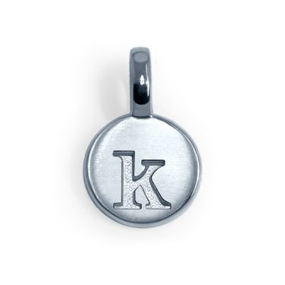 Alex Woo Sterling Silver Mini Addition Letter K Charm