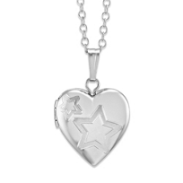 Sterling_Silver_Heart_Locket_With_Star_Pattern