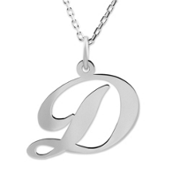 "Sterling_Silver_Medium_""D""_Pendant"