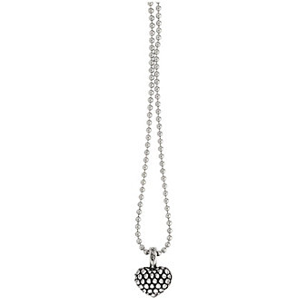 Lagos Sterling Silver Signature Gifts Beaded Heart