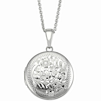 Sterling Silver Locket Pendant