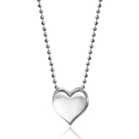 Alex_Woo_Sterling_Silver_Little_Big_Vegas_Heart,_16""