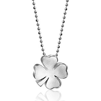Alex Woo Sterling Silver Little Luck Clover