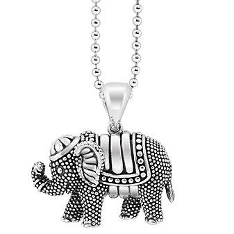 Lagos Sterling Silver Rare Wonders Elephant Pendant