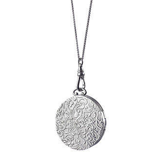 Monica Rich Kosann Sterling Silver Vine Locket