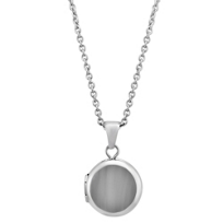 Sterling_Silver_Child's_Round_Locket,_15""