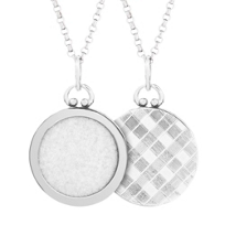 Sterling_Silver_Round_Picture_Frame_Pendant