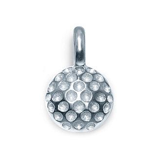 Alex Woo Sterling Silver Mini Addition Sports Golf Ball Charm