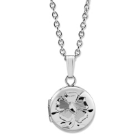 Child's_Sterling_Silver_Floral_Engraved_Round_Locket