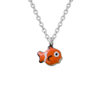 Sterling_Silver_Orange_&_White_Enamel_Clownfish_Pendant