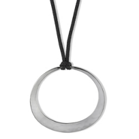 Toby_Pomeroy_Ecosilver_Eclipse_Hammered_Hoop_Pendant