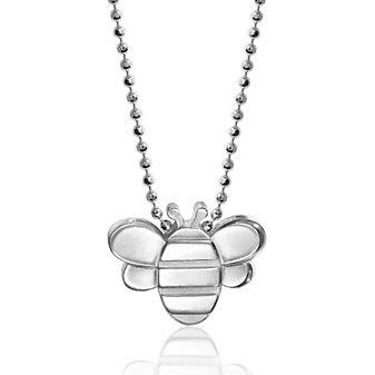 Alex Woo Sterling Silver Little Seasons Bee Pendant