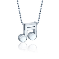 Alex_Woo_Sterling_Silver_Little_Rock_Star_Double_Note_Pendant
