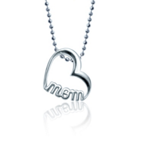 Alex_Woo_Sterling_Silver_Little_Words_Mom_Heart_Pendant