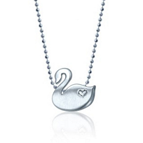 Alex_Woo_Sterling_Silver_Little_Animals_Swan_Pendant