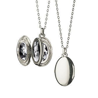 Monica Rich Kosann Sterling Silver Four Premier Locket
