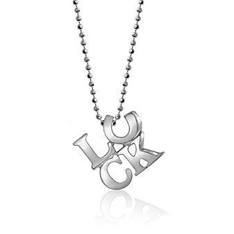 Alex Woo Sterling Silver Little Luck Horseshoe Pendant