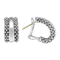 Lagos_Sterling_Silver_Signature_Caviar_Hoop_Earrings
