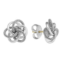 Lagos_Sterling_Silver_Love_Knot_Earrings