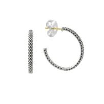 Lagos_Sterling_Silver_Signature_Caviar_Hoop_Earrings,_25mm