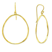 Sterling_Silver_&_Yellow_Tone_Open_Organic_Circle_Earrings