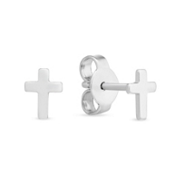 Sterling_Silver_Cross_Stud_Earrings,_6mm