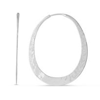toby_pomeroy_ecosilver_oval_hammered_hoop_earrings,_48mm