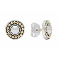 Lagos_Sterling_Silver_&_18K_Yellow_Gold_Enso_Circle_Stud_Earrings