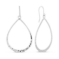 Sterling_Silver_Hammered_Teardrop_Earrings
