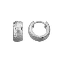 Sterling_Silver_Wide_Hammered_Huggie_Hoop_Earrings